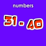 Numbers 31-40